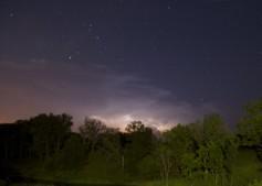 Evening Lightning Storm